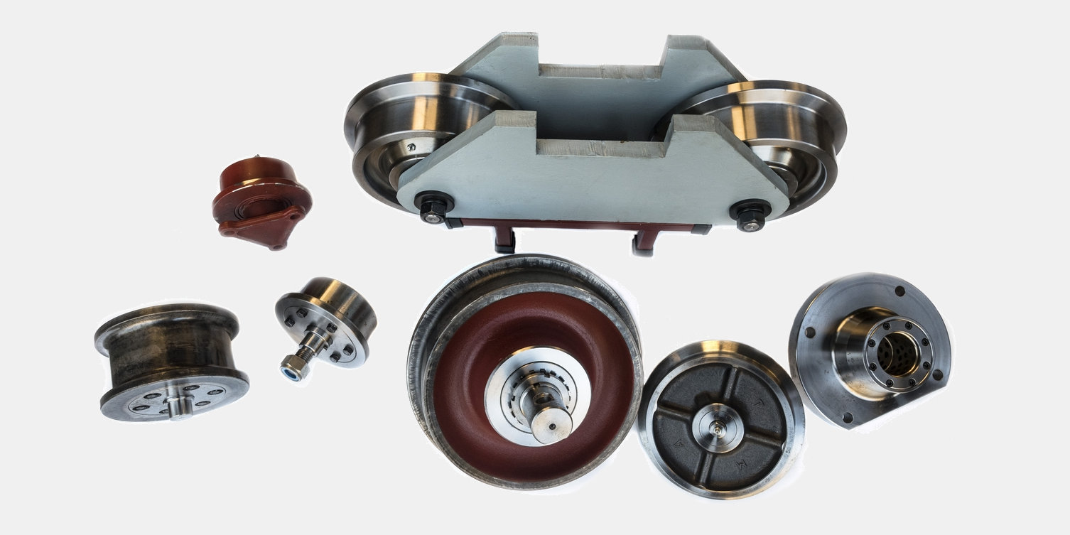 Blueprint-based wheels and axles in general